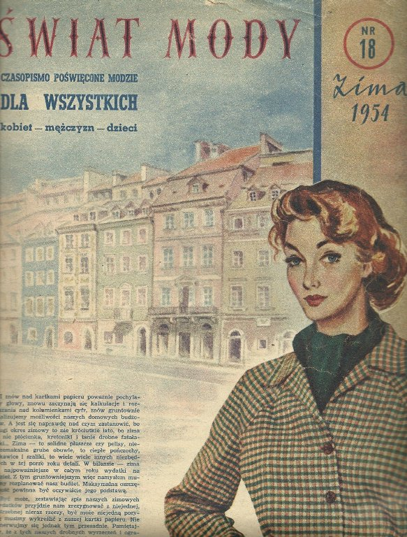 moda damska w PRL-u