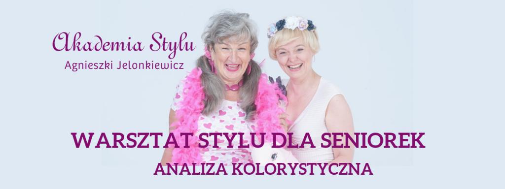 warsztat stylu dla seniorek kolorystyka
