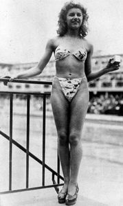 bikini kostium