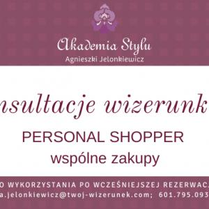 usługa personal shopper